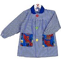 KLOTTZ - BABI SPIDERMAN MANDILON GUARDERIA Niñas color: AZUL talla: 5