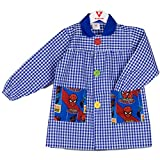 KLOTTZ - BABI SPIDERMAN MANDILON GUARDERIA Niñas color: AZUL talla: 4