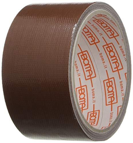 Boma B47008400012 - Cinta adhesiva de tejido, 50 mm x 5 m, color marrón