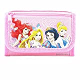 Disney Princess Style Pink Trifold Wallet, 4.75' x 3.0'