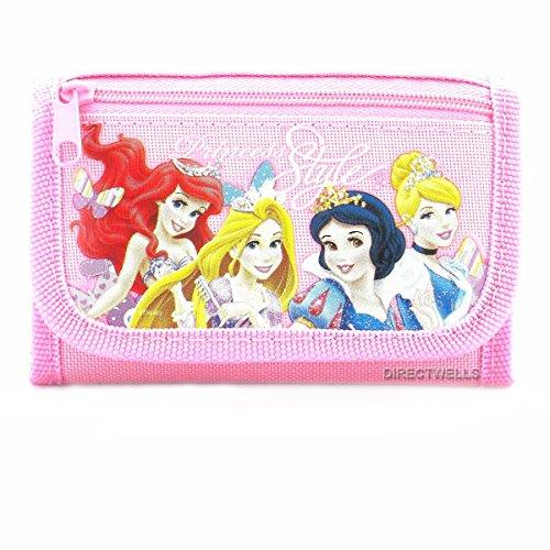 Disney Princess Style Pink Trifold …