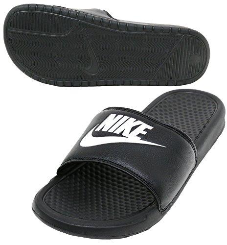 Nike Benassi Jdi - Scarpe da fitness Uomo, Nero (Black/White 090), 41 EU