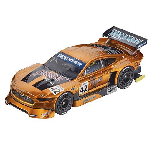 Carrera Digital 132 Ford Mustang GTY No.42 | Slotcar für Rennbahn | Front- & Rücklicht & Bremslicht | Digital steuerbar | Maßstab 1:32 | Spielzeug für Kinder ab 8 Jahre & Erwachsene