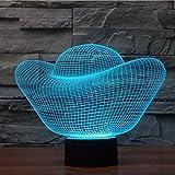 Lampe à illusion 3D Véhicule grand SUV carTouch LED Lampe de bureau à table 7 Changement de couleur Chargeur USB Alimenté Interrupteur tactile Bureau Veilleuse pour enfants Amis cadeau