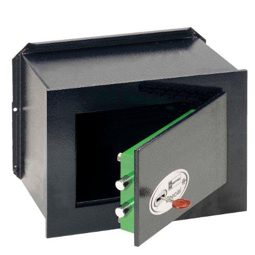 Cassaforte da muro Mottura con chiave in acciaio 20x29x20 cm 11.6322