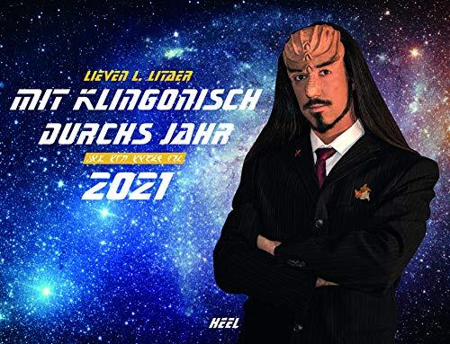 Mit Klingonisch durchs Jahr 2021: Der Eintragkalender für Trekkies