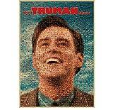 liuyushuo Poster Jim Carrey Film Retro Poster Die Truman
