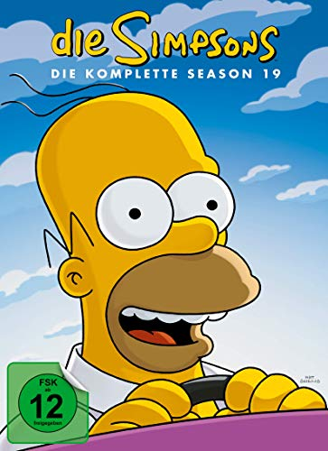 The Simpsons - Die komplette Season 19 [4 DVDs]