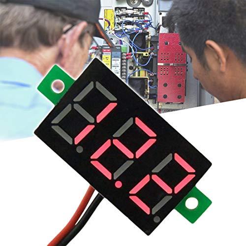 Mini 0,36 Zoll Voltmeter LED-Anzeige Spannung Galvanometer DC Voltmeter Digital Spannungsprüfer Zwei-Draht-Spannung Digitalanzeige
