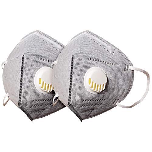 AIORNIY 1/2 piezas antipolvo Protección Facial Polvo Viento Dispositivo de protección respiratoria para nebligen Dunst
