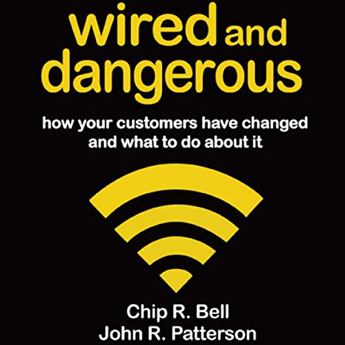 Wired and Dangerous audiobook cover art