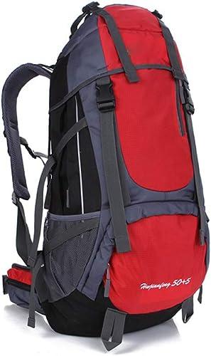 QYSZYG Sac à Dos Sac à Dos de Sport de Plein air pour Alpinisme pour Hommes Sac à Dos en Plein air (Couleur   rouge)