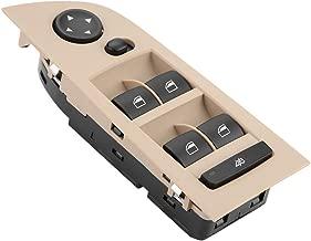 Pegcduu Interruptor Maestro Ventana Ventana de Cristal del Panel de Levantador panelDriverside Ajuste reemplazo del bot/ón para BMW E70 E71 61319218044