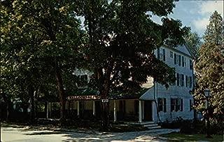 Walloomsac Inn Old Bennington, Vermont Original Vintage Postcard