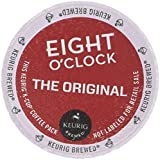 Eight O'Clock Original Blend Single Serve K-Cups for Keurig Brewers, 24 Count (Pack of 2)