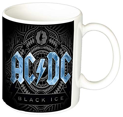 MasTazas AC/DC Black Ice ACDC Angus Young A Tasse Mug