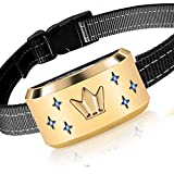 HVRSTVILL Dog Bark Collar Effective for Small Medium Large Dogs with Beep & Vibration - NO Shock Rechargeable Anti Bark Training Collar, Safely and Humane Dog Collar, Adjustable Belt