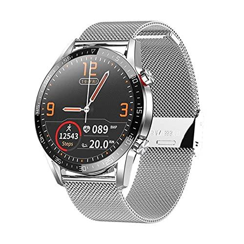 DZX L13 batería de Larga duración de la batería Deportes Impermeable Ritmo cardíaco con monitoreo del sueño Respuesta Haga Las Llamadas Recordatorio Huawei Smart Watch L9 L11 Actualización,F