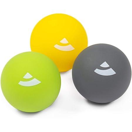 un entra/înement des fascias un auto-massage fascias balles Lacrosse pour une d/étente musculaire ultime Balle de massage Black Balle une th/érapie des points de d/éclenchement.