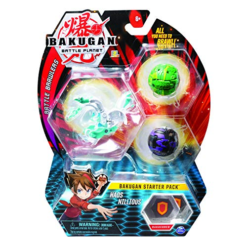 BAKUGAN- Starter Pack Modelo 9, 6055456, Multicolor