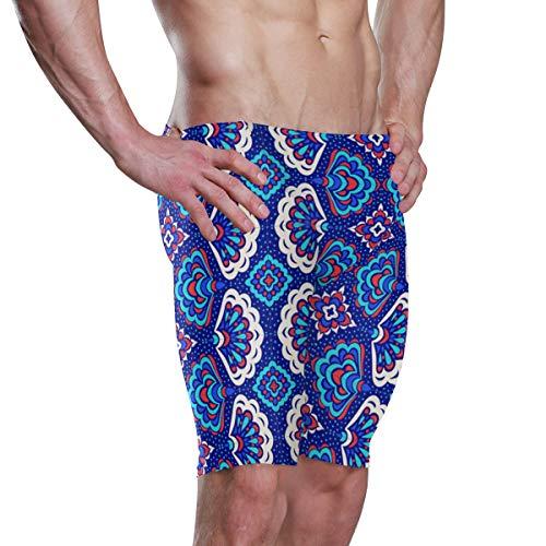 Mr Brilliant Bohemia India Swimwear Swim Jammers for Men XXXL 2060075