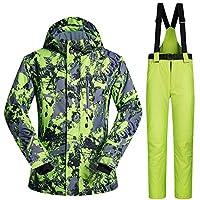 TXOTO スノーボードウェア スキーウェア 上下セット メンズ 防風 保温 アウター ジャケット パンツ