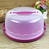accrie plastic cake keeper cake caddy/holder/container/carrier suitable for 10in cake or less
