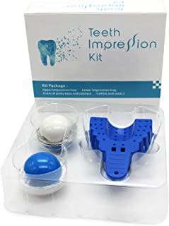 Silicone Impression Material Tray Kit Dental Clinic Teeth Whitening WS2+1