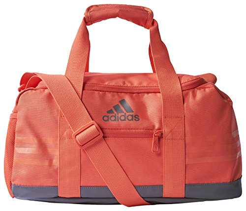 adidas 3-Streifen Performance M Team-Tasche, Easy Coral/Trace Grey, 27 x 29 x 60 cm