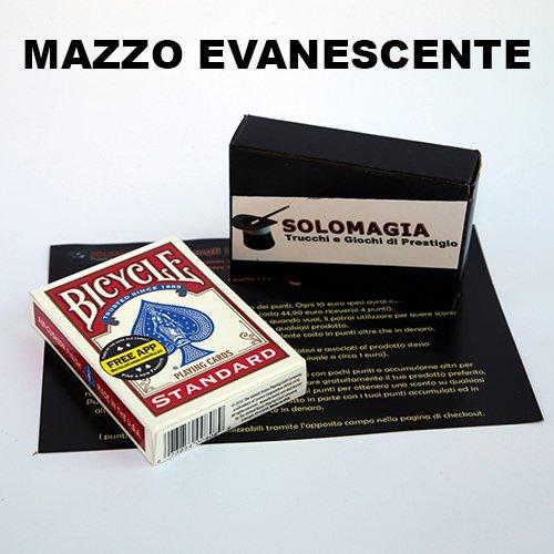 SOLOMAGIA Mazzo di Carte Bicycle - Mazzo Evanescente - Dorso Rosso - Mazzi truccati