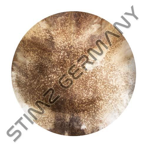 Djembe Fell (ZiegenFell) für Trommel 55cm, rasiert rund.