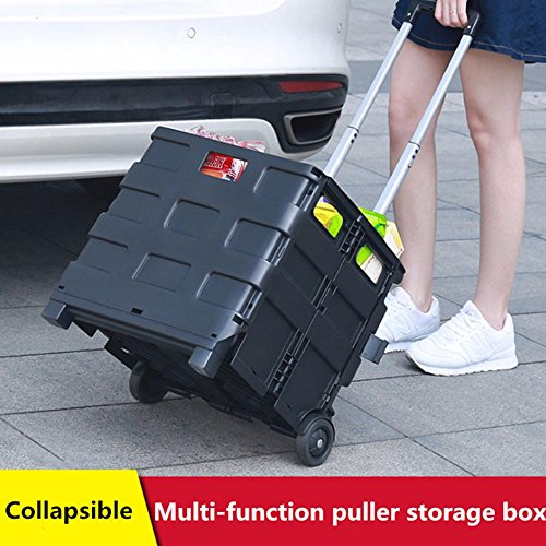 Car Trunk Organizer Travel Suitcase Snacks Storage Box Collapsible Organizer For Car Shipping Trolley Suitcase Auto Accessories