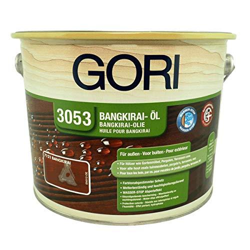 Gori 3053 Holz-Öl Bangkirai 7121, 2,50 Liter