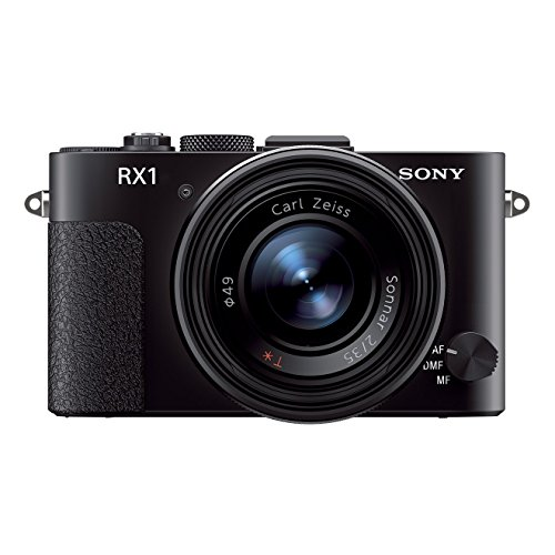 "Sony DSC-RX1 - Cámara compacta de 24.3 MP (Pantalla de 3.0"", Sensor de fotograma Completo, estabilizador de Imagen Digital, Video Full HD, Anilla de Enfoque y Apertura), Color Negro"
