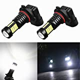 Alla Lighting 2000 Lumens High Power 3030 36-SMD Extremely Super Bright 6000K Xenon White H10 9140 9045 9040...