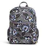 Vera Bradley Recycled Lighten Up Reactive Grand Backpack, Blooms Shower