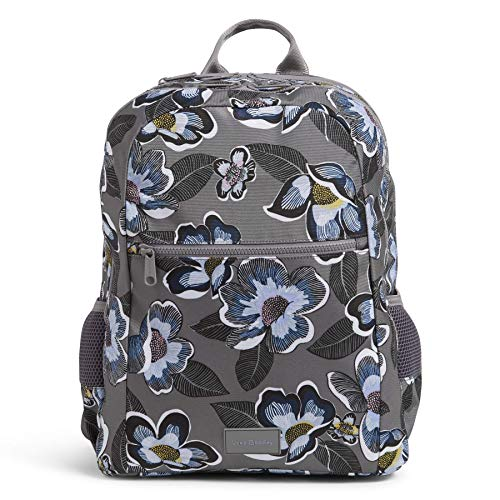 Vera Bradley Recycled Lighten Up Reactive Grand Backpack, Blooms Shower