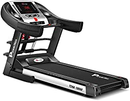 PowerMax Fitness® TDM-100M (2.0HP) Motorized Foldable, Electric Treadmill (FREE INSTALLATION)【LED Display | BMI | Spring...