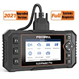 FOXWELL Scan Tool NT624 Elite All Systems Diagnostic Scanner for Cars with Oil Light EPB Service Reset, Check Engine Tran ABS SRS SAS EPS HVAC Headlamp Obd2 Code Reader (2021 Upgraded Version)