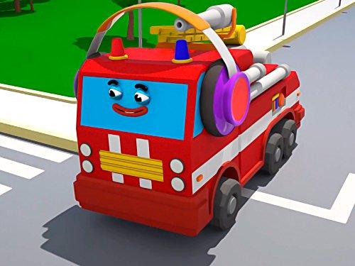 Intelligenter Feuerwehrauto