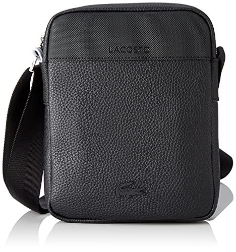 Lacoste NH3660LQ, Vertical Camera Bag Homme, Noir, Taille Unique