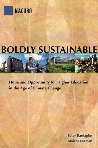 Boldly Sustainable: Hope and Opportunity for Higher...