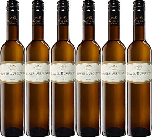 Oberkircher Winzer Vinum Nobile Grauer Burgunder 0,5 L 2019 Trocken (6 x 0.5 l)