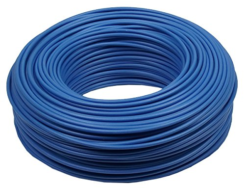 Verdrahtungsleitung H07 V-K 10 mm² - blau - 10 m