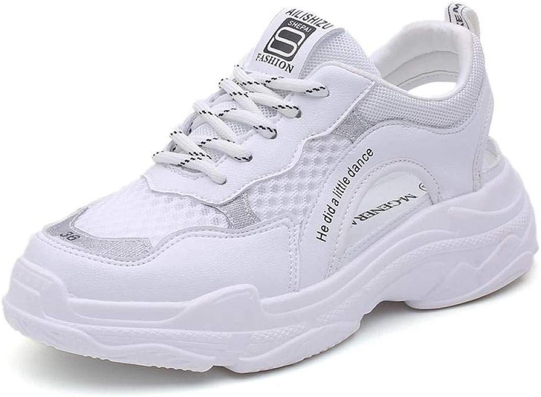Sandales Femme Tongs Femme Sandalen Frauen Sportnetz Schuhe Atmungsaktiv Flachen Boden Baotou
