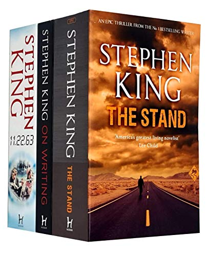 Stephen King Collection 3 Books Set (The Stand, 11.22.63, On Writing)