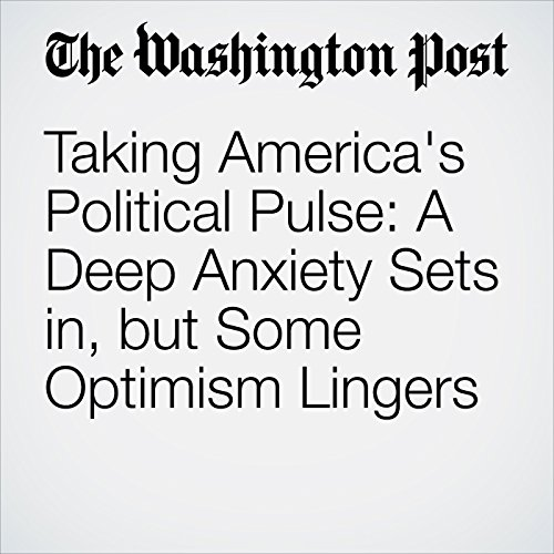 Taking America's Political Pulse: A Deep Anxiety Sets in, but Some Optimism Lingers cover art