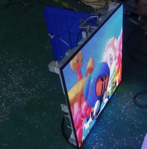 Peso ligero Delgado Interior P4 Publicidad Alquiler a todo color Pantalla LED...