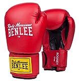 Benlee Rocky Marciano Rodney - Guante de boxeo (PVC), color rojo/negro, talla 12