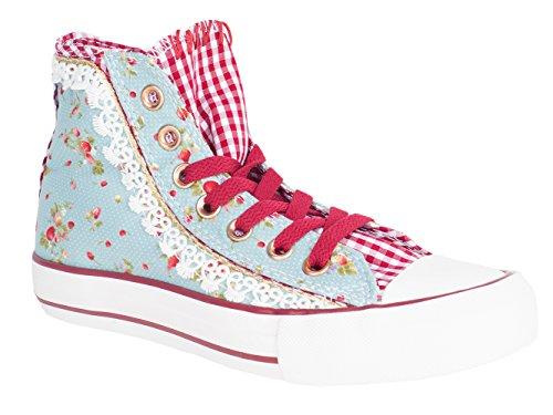 Krüger Damen Sneaker Strawberry (37, hellblau)